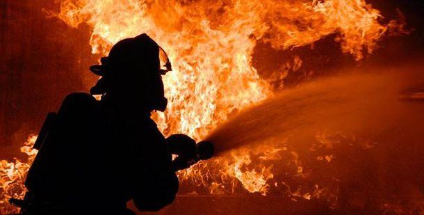 Пожар в Запорожье (фото иллюстративное)