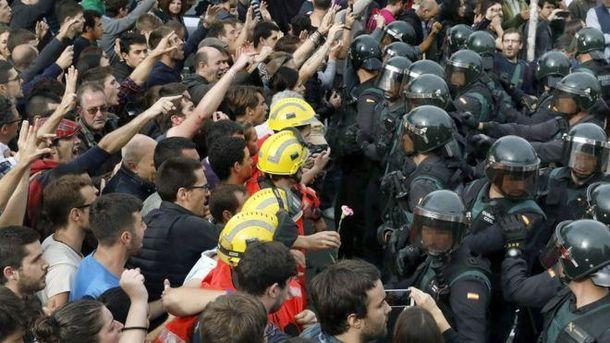 Каталонцы не выполнили процедуры проведения референдума