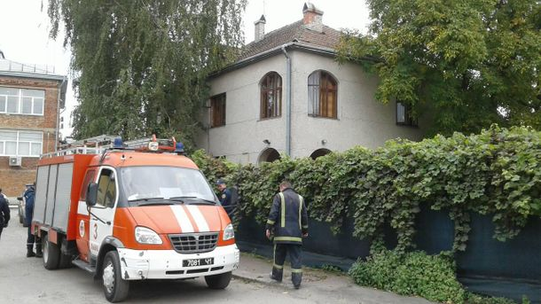 Пожежа в дитячому садку Львова
