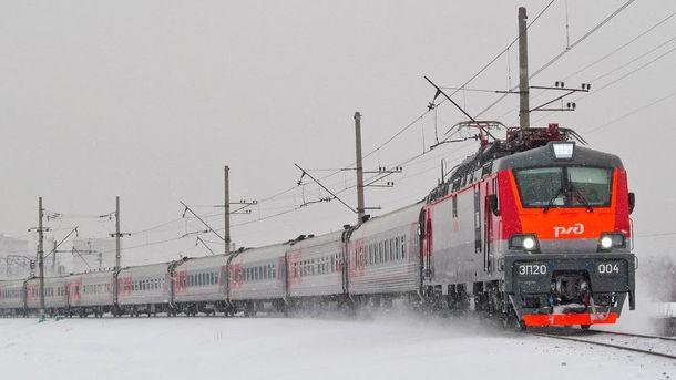 Пассажирские поезда начнут ходить вобход Украинского государства  15ноября