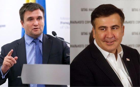 Климкин оценил влияние ситуации с Саакашвили на внешнюю политику Украины