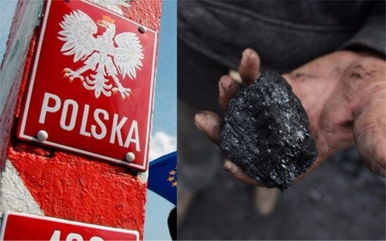 У Польщі підтвердили ввезення вугілля з окупованого Донбасу