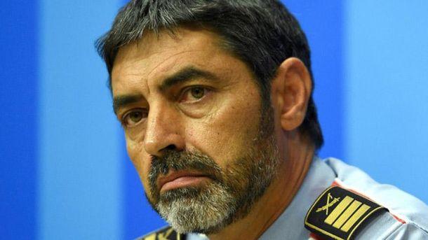 Шефа милиции Каталонии хотят привлечь ксуду заподстрекательство кбунту