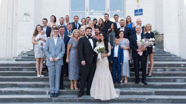 Весілля сина Луценків