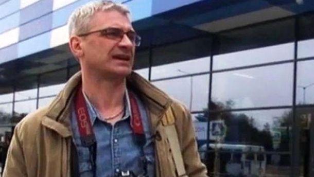 В Киеве задержали российского журналиста
