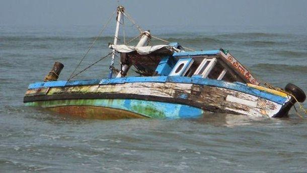 Авария судна в Нигерии
