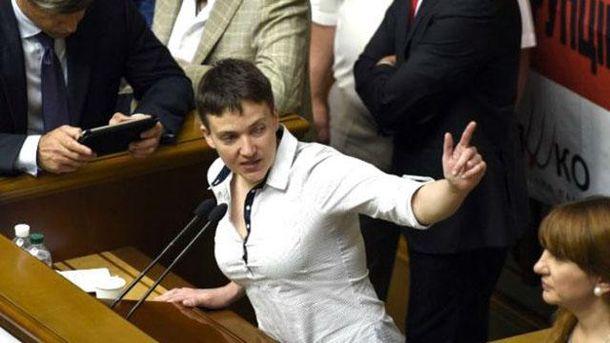 Савченко и Береза поссорились на Комитете нацбезопасности