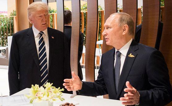 Путин заявил, что не имеет личных отношений с Трампом
