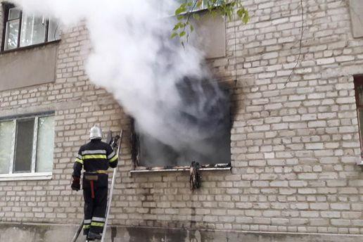 На Харківщині внаслідок пожежі загинула 4-річна дівчинка