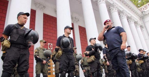 В міськраді Одеси проходять обшуки звилученням документів