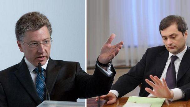 Волкер и Сурков планируют очередную встречу