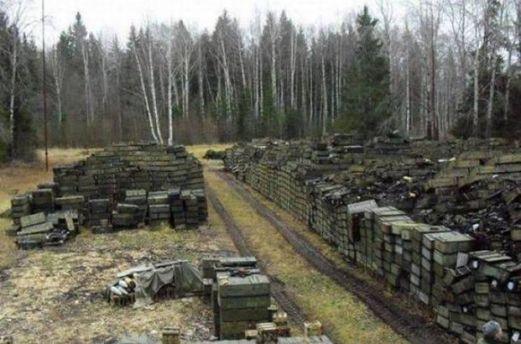 Військові склади в Україні