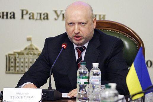 Турчинов раскритиковал депутатов за блокирование голосования законопроекта об оккупированном Донбассе