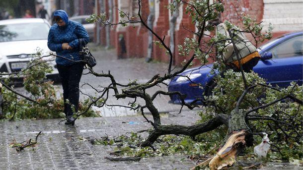 Штормове попередження оголошено на півночі, півдні, сході та в центрі