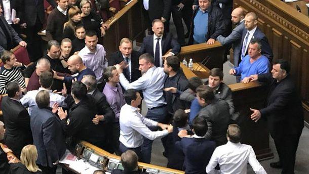 УРаді знову побилися депутати