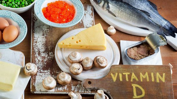 Витамин D есть во многих продуктах