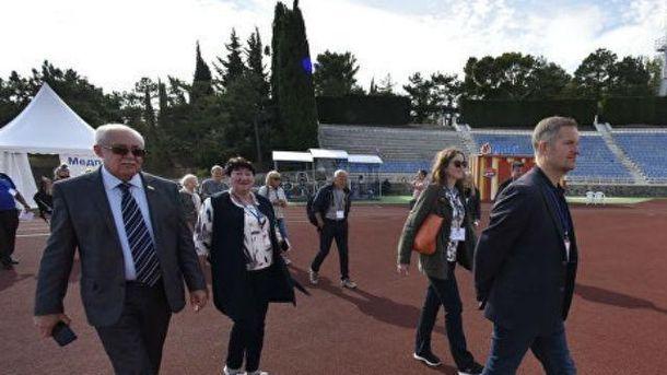 Депутати і політики з Норвегії в Криму