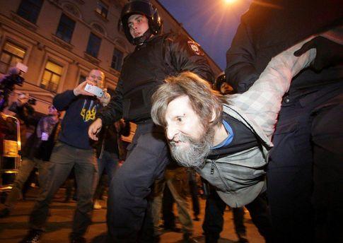 Задержания в России