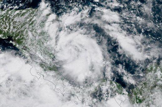 Опасный ураган