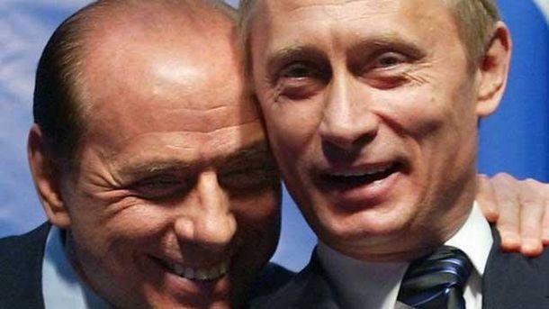 Сильвио Берлускони сделал необычный подарок Владимиру Путину