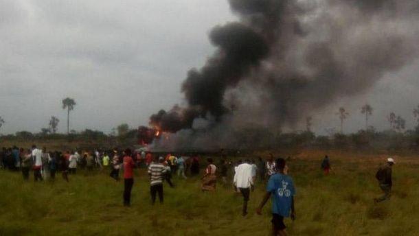 Авіакатастрофа військового літака у Конго
