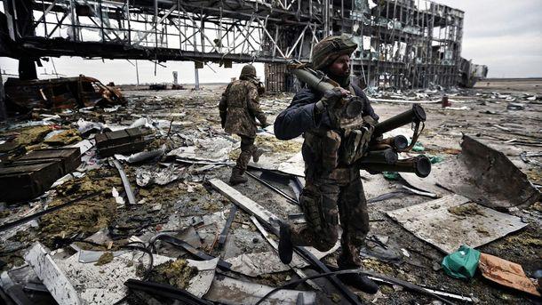 Взяття силами АТО посадкової смуги Донецького аеропорту