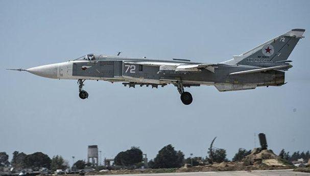 В Сирії розбився Су-24