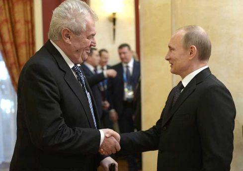 Президент Чехії Земан розраховує на економічні пріоритети від Росії