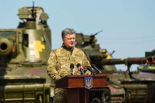 Порошенко ввел вдействие решение СНБО оСтавке верховного главнокомандующего