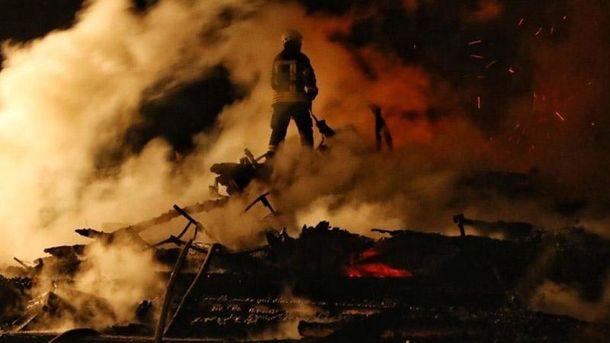 Пожежа у дитячому таборі в Одесі