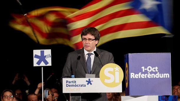 Очільник Каталонії Пучдемон нагадує капітана корабля, який невпинно йде на дно