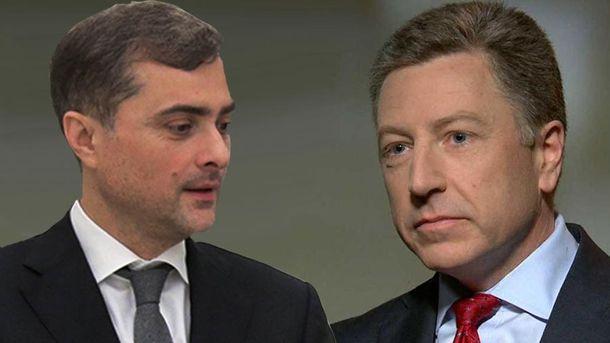 Владислав Сурков и Курт Волкер