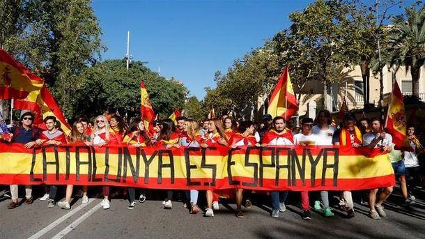 Мадрид в очередной раз заявил, что Каталония - это Испания
