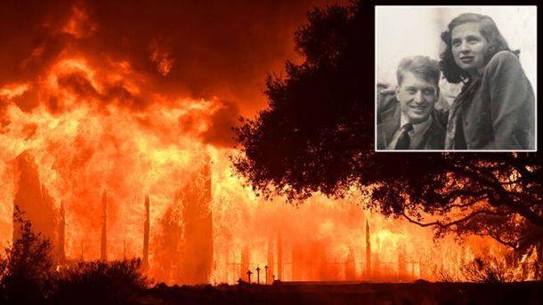 Супруги погибли в пожаре
