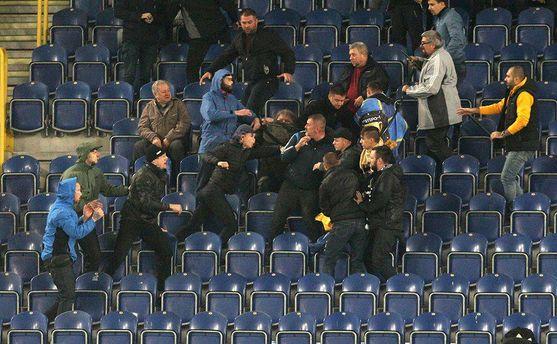 Нардеп Береза потребовал возвращения полиции на стадионы
