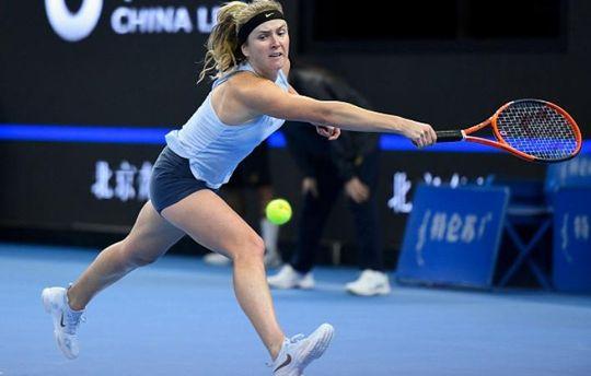 Еліна Світоліна травмувалась на турнірі у Пекіні