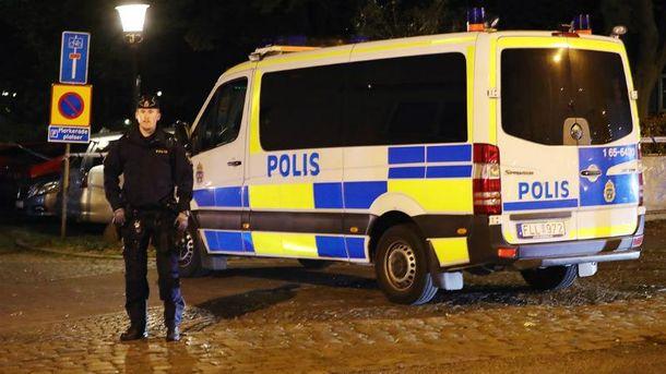 Стрельба произошла в Швеции