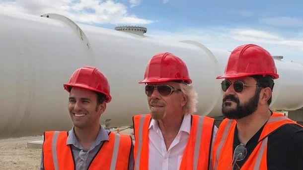 Миллиардер Ричард Брэнсон занялся постройкой сверхскоростных поездов Hyperloop