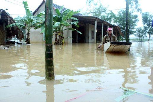 Через повені більше півсотні людей загинуло у В'єтнамі