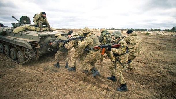 Тренування 10-ої гірсько-штурмової бригади