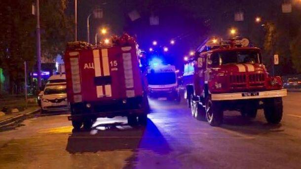 В Киеве вспыхнул подземный переход
