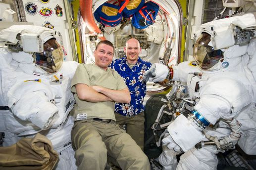 Як астронавти розважаються у космосі