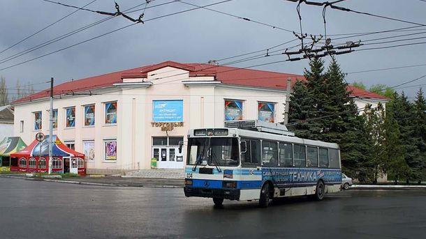 В оккупированном городе на Донбассе появились проукраинские надписи