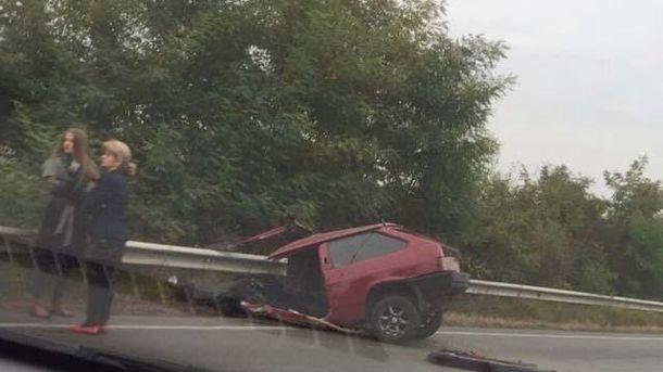 Жуткая ДТП на Закарпатье: автомобиль разорвало пополам
