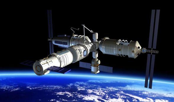 Китайская космическая станция весом в8,5 тонн вскоре упадёт наЗемлю