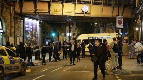 Нападение на станцию метро Parsons Green