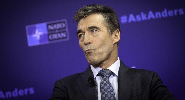Прошлый генеральный секретарь НАТО поведал, как можно остановить Российскую Федерацию наДонбассе