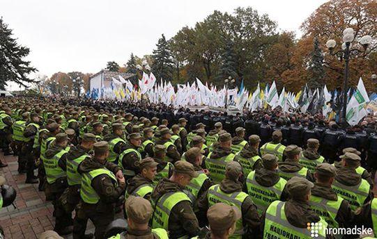 Протестувальники можуть піти на штурм Ради, заявив Шкіряк
