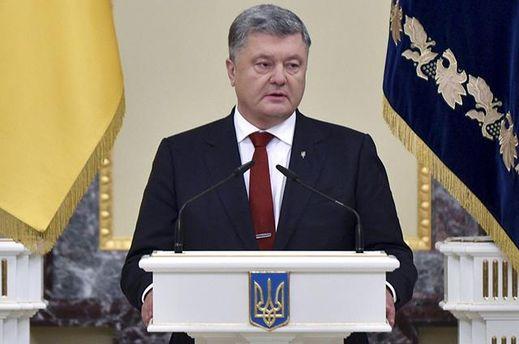 Порошенко назвал неприемлемым захват «вертолетной площадки Януковича»