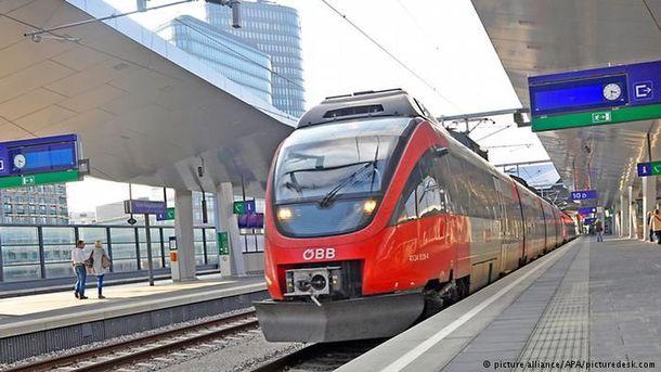 Австрийская Республика готовится принимать беспересадочные поезда из Украинского государства